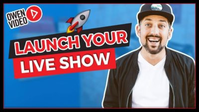 launch your live show