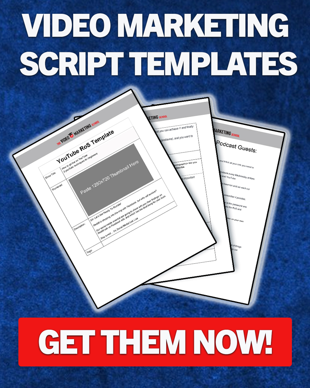 Sidebar free offer script templates